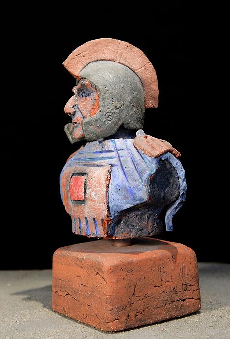 Warriors Sculpture - Roman Legionaire - Warrior - Ancient Rome - Roemer - Romeinen - Antichi Romani - Romains - Romarere  by Urft Valley Art