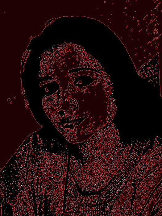 Portrait Digital Art - Self Portrait by Karuna Ahluwalia