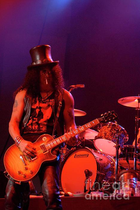 Guitarist Photograph - Slash by Jenny Potter