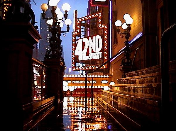 Manhattan Photograph - 42nd Street by Jose Roldan Rendon