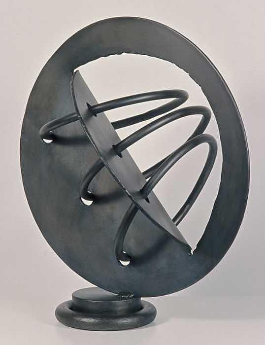 Welded Steel Sculpture - 163 by Rebecca Fox