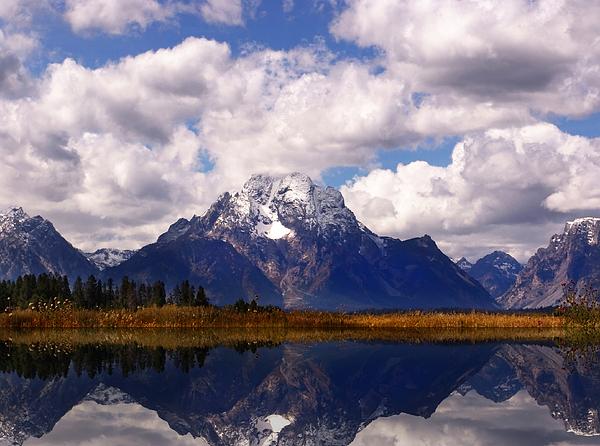 Wyoming Photograph - Grand Teton National Park by Mark Smith