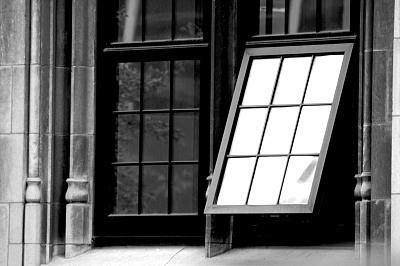 Window Photograph - Untitled by Eduardo Hugo