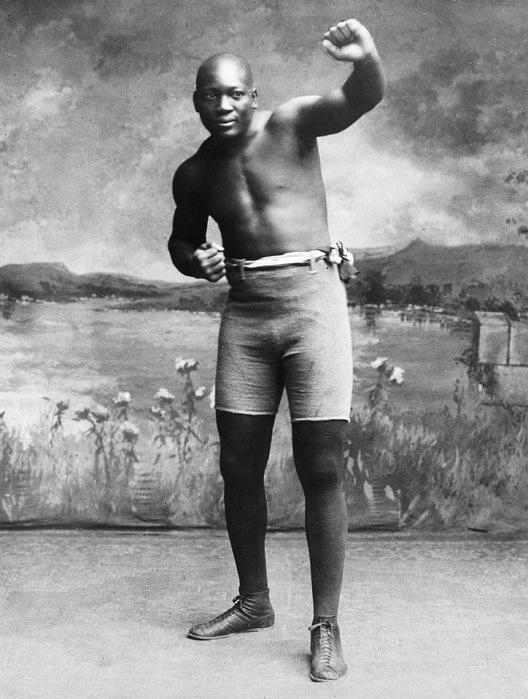 1910 Photograph - Jack Johnson (1878-1946) by Granger