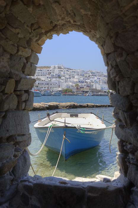 Naoussa Photograph - Paros - Cyclades - Greece by Joana Kruse