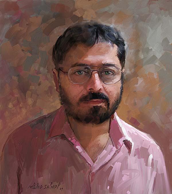 Portrait Painting - Portrait Painting by Milind Shimpi