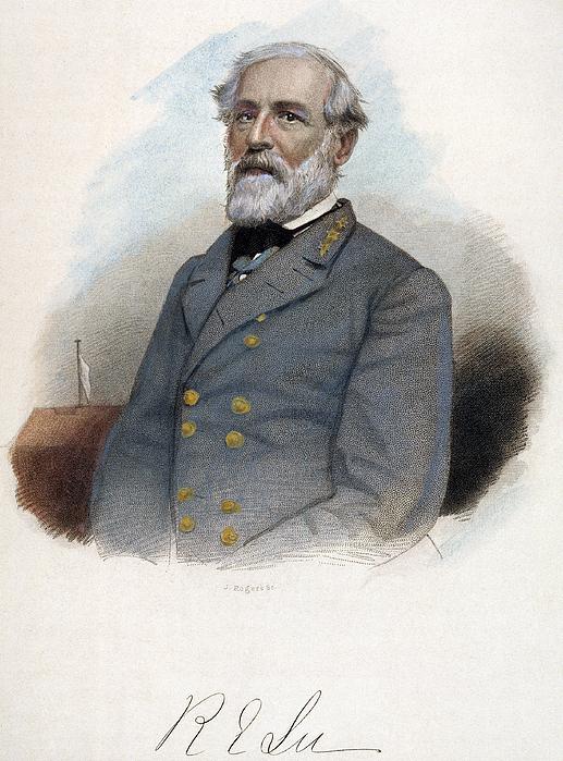 19th Century Photograph - Robert E. Lee (1807-1870) by Granger