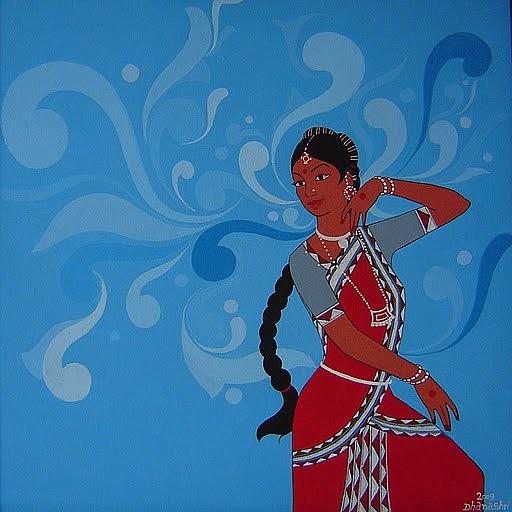 Mall Painting - Rythem Of Dance by Dhanashri Pendse