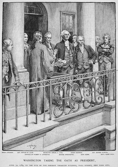 1789 Photograph - George Washington by Granger