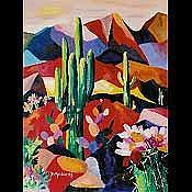 Desert Bloom Print by Diana Madaras