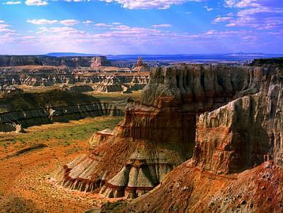 Coal Mine Canyon Photograph - Coal Mine Canyon  Arizona by Tom Narwid
