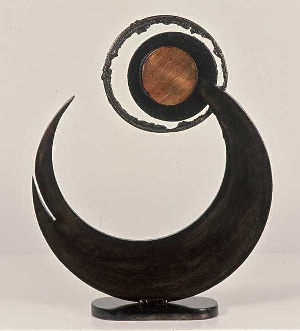 Welded Steel Sculpture - 166 by Rebecca Fox