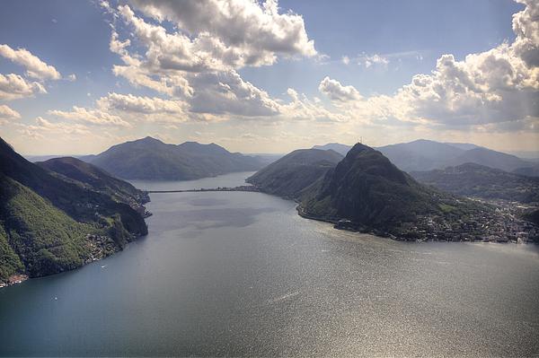 Monte Bre Photograph - Lugano by Joana Kruse