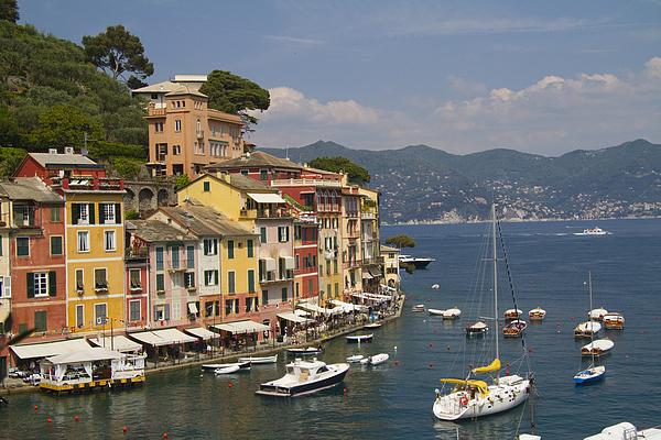 Portofino Photograph - Portofino In The Italian Riviera In Liguria Italy by David Smith