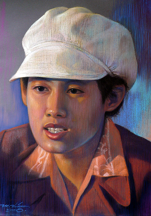Realism Painting - Untitled by Chonkhet Phanwichien