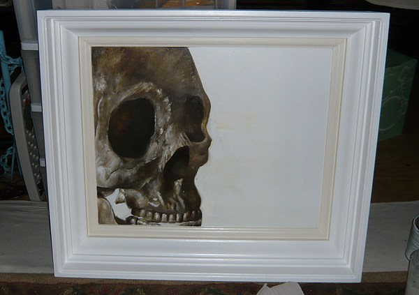 Skeleton Painting - Untitled by Travis Pulver