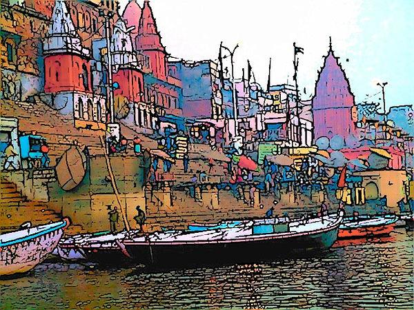 Varanasi Photograph - Varanasi by Lisa Dunn