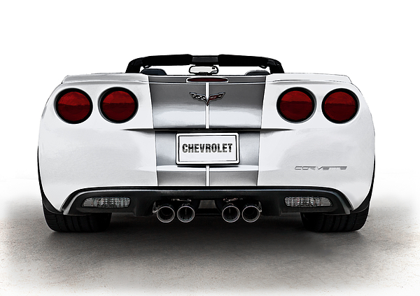 Anniversary Digital Art - 60th Anniversary Corvette by Douglas Pittman