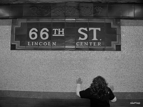 Subway Photograph - 66th Street New York City Subway by Alexander Aristotle