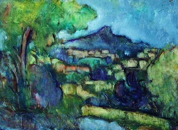 Landscape Painting - La Rhune by Jean pierre  Harixcalde