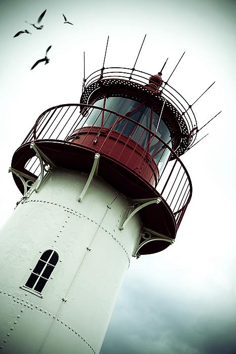 Beacon Photograph - Lighthouse by Joana Kruse