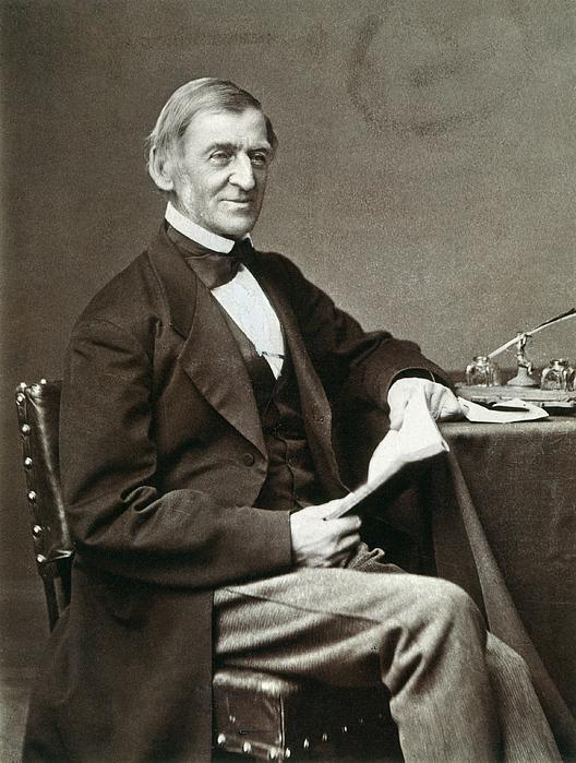 1873 Photograph - Ralph Waldo Emerson by Granger