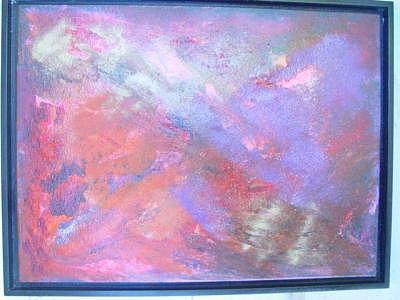Mixed-medium Painting by  Alexandra Stanislava Pokorna