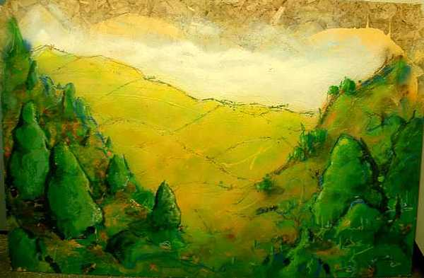 Landscape No Painting by Frederic Chabot-Lamarche