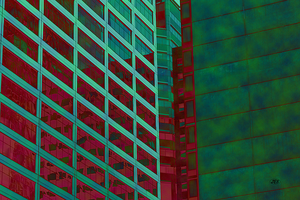 Architectural Photograph - 7985 by Jim Simms