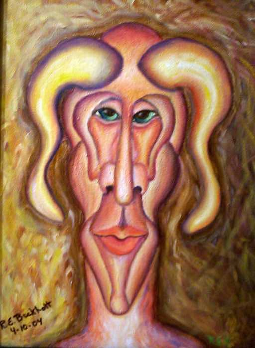 Charisma Painting by Richard Beckholt
