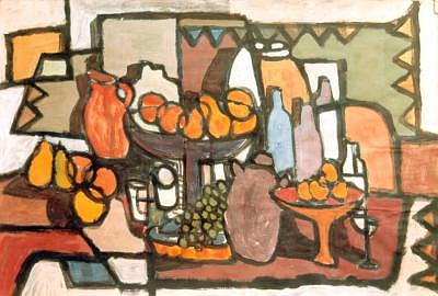 Jar Painting - 8granfrutero by Juan Luis Quintana