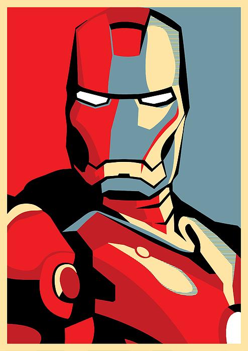 Iron Man Digital Art - Iron Man by Caio Caldas