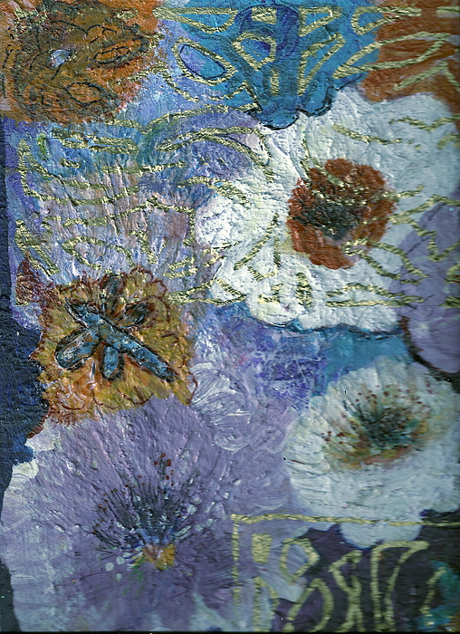 Flore Painting - Untitled by Anne-Elizabeth Whiteway