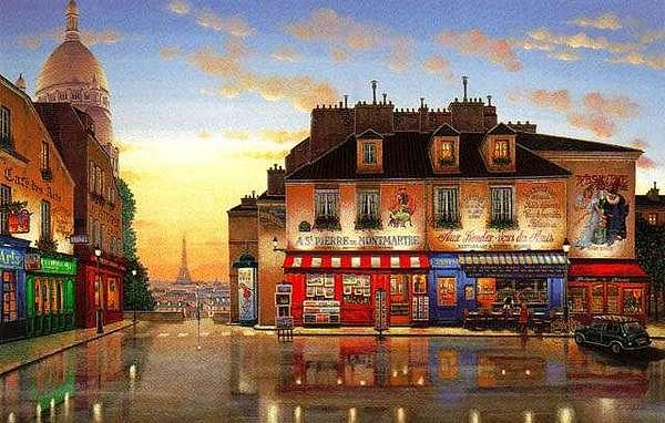 Paris Mixed Media - Montmartre Morning by Liudmila Kondakova