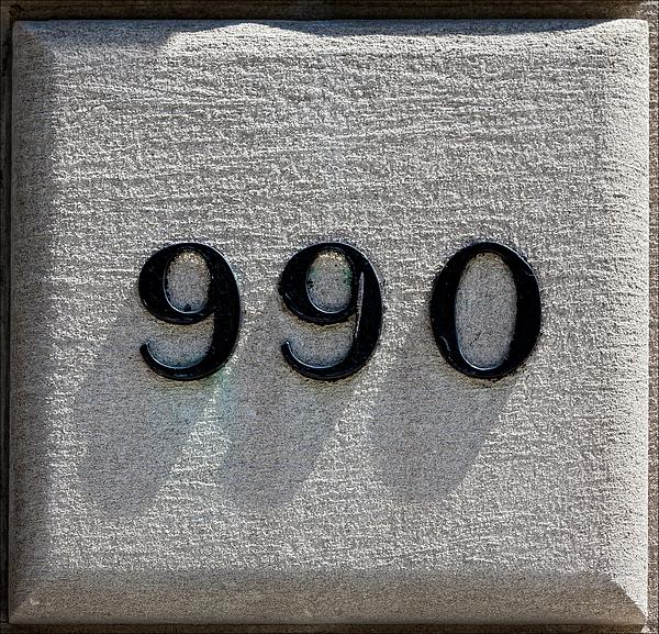 Sign Photograph - 990 by Robert Ullmann