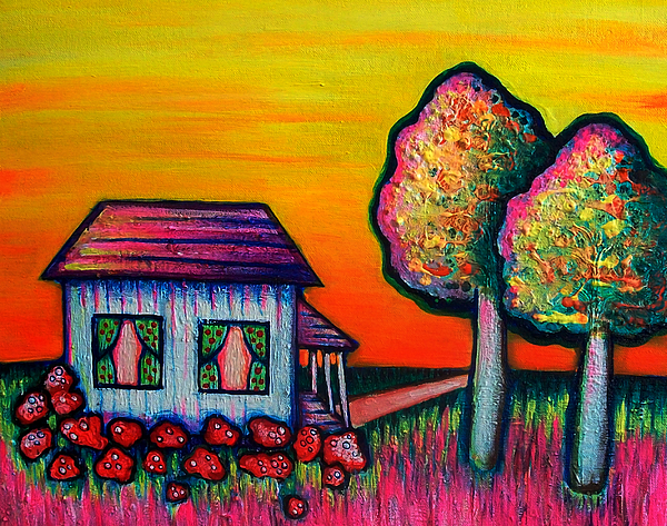 House Painting - A Childs Dream by Brenda Higginson