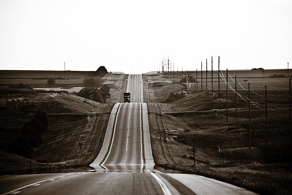 Nebraska Photograph - A Country Mile 1 by Marilyn Hunt