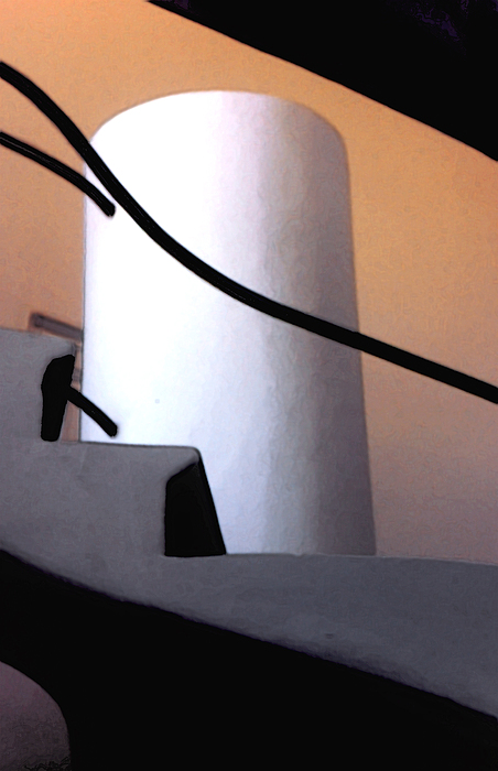 Abstract Photograph - A Gaudi Staircase by Linda  Parker