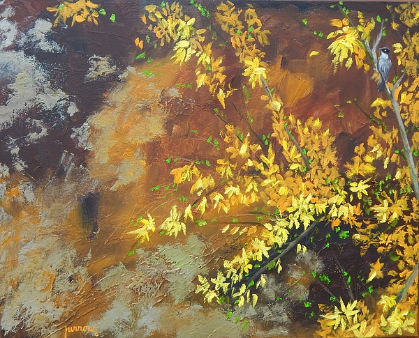 Floral Painting - A Gift To The Giver by Sue Furrow