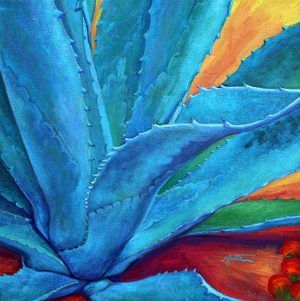 Agave Painting - A Hand Out by Athena Mantle