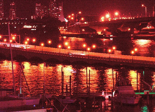 Biscayne Bay Photograph - A Hot Night On Biscayne Bay by Margaret Bobb