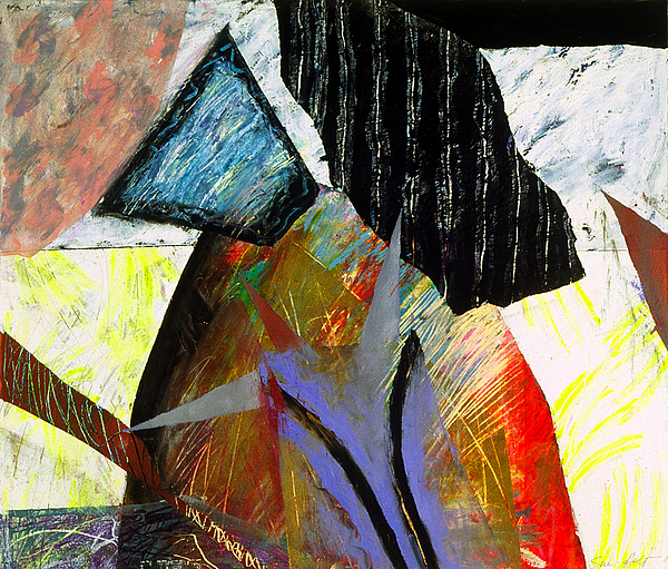 Metaphysical Painting - A House Divided by Sue Reed