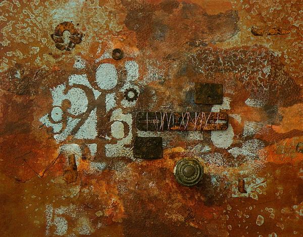Mixed Media Painting - A Little Rusty by Tara Milliken