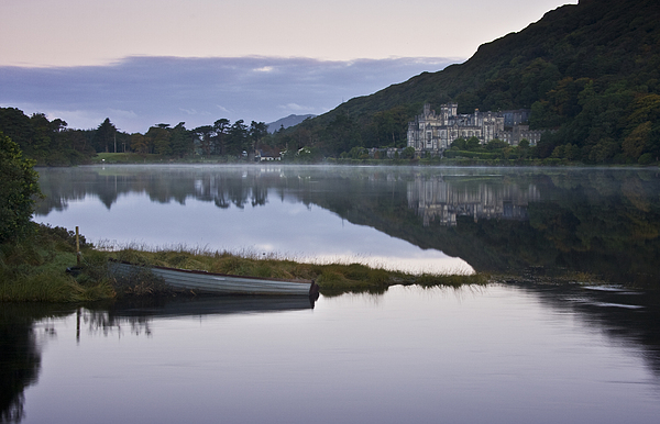 Kylemore Abbey Photograph - A Place For Introspection by Gary Rowe