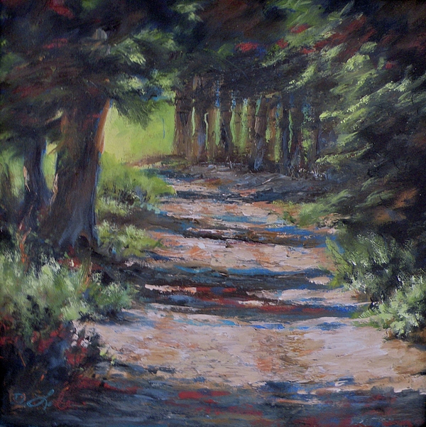 Landscape Painting - A Road Less Travelled by Mia DeLode