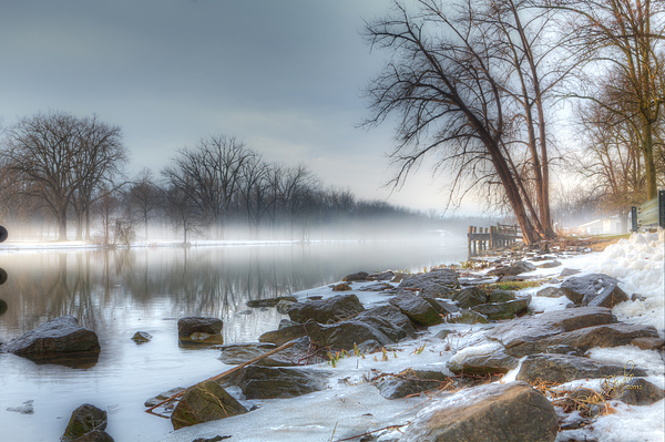 Landscape Photograph - A Tranquil Evening by Everet Regal