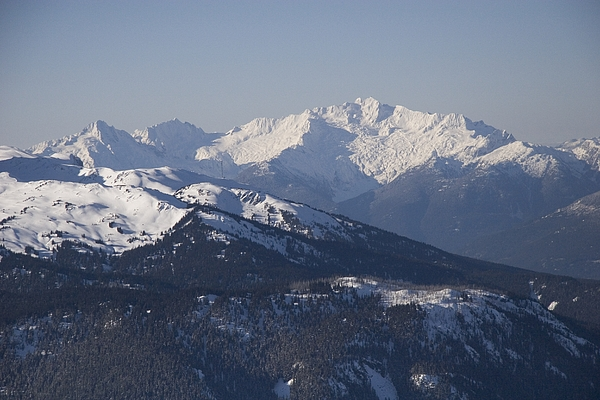 North America Photograph - A View Of The Mountains by Taylor S. Kennedy