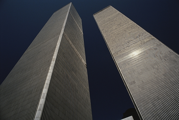 North America Photograph - A View Of The Twin Towers Of The World by Roy Gumpel