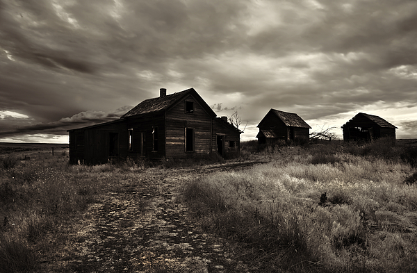 Homestead Photograph - Abandoned by Mike  Dawson