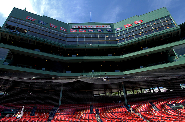 boston Red Sox  - Above It All by Paul Mangold